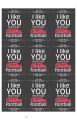 Chalkboard Valentines - 11x17