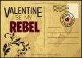 Valentine 2015 Single Postcard