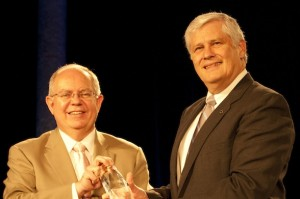 Dale Flesher receives national accounting award.