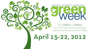 Green Week Activities Include Potluck, Yoga, Sustainability Fair