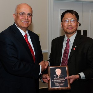Nadim Aziz, interim vice president for academic affairs and provost at Clemson University, has been named the 2013 Engineer of Distinction by the School of Engineering at the University of Mississippi.