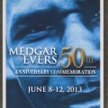 Flier for Medgar Evers Events