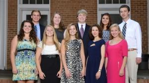 Ten Outstanding Freshmen Named 2013-14 Croft Scholars