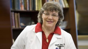 Pediatrician Hannah Gay, M.D., of the University of Mississippi Medical Center