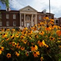Farley Hall is home to the University of Mississippi's Meek School of Journalism and New Media.