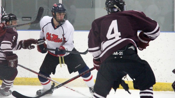 Rebel Ice Hockey Team Earns Berth to National Tournament
