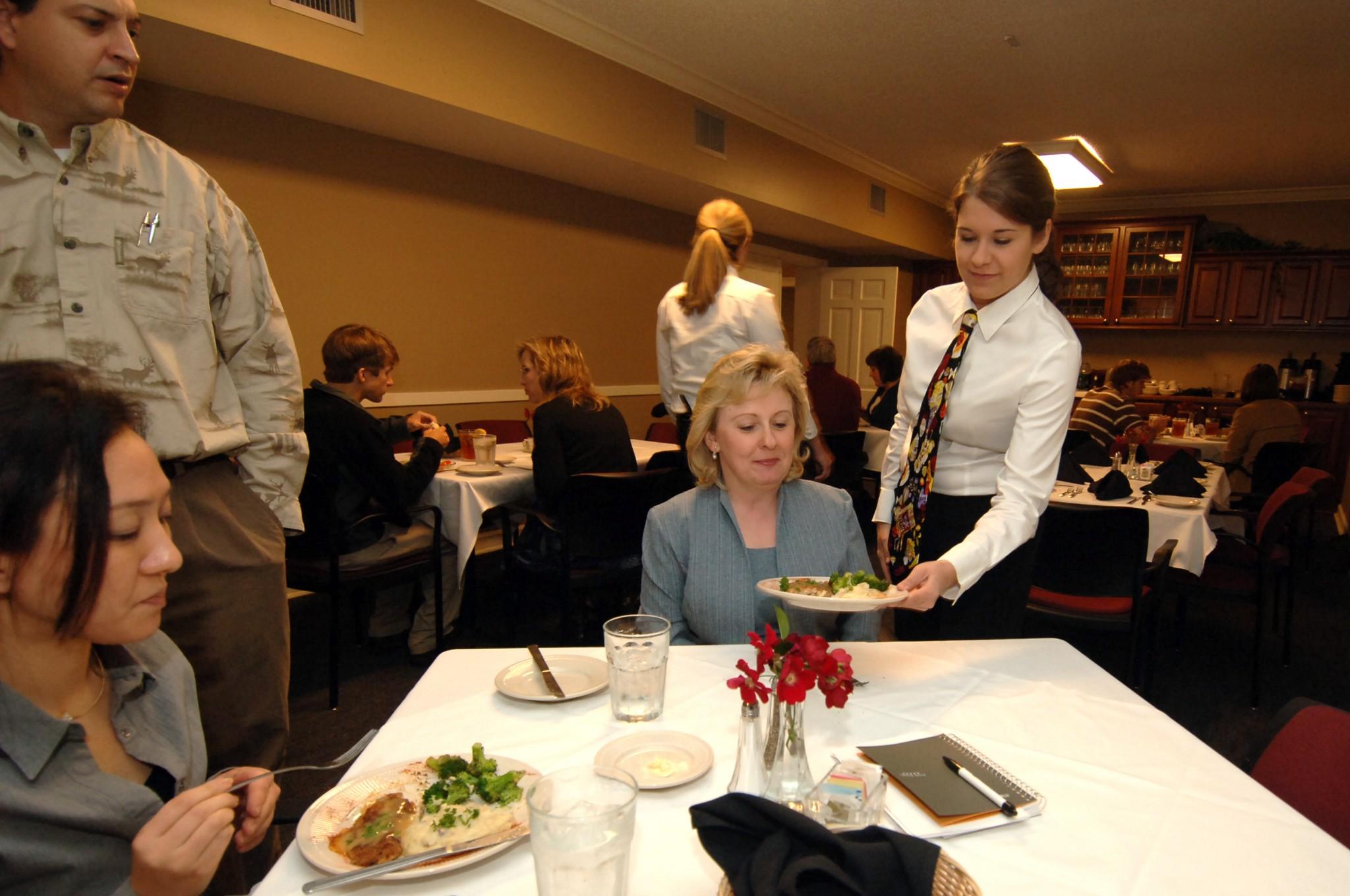 Lenoir Hall dining