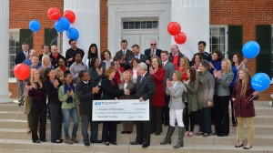 Rebel Well program receives $250,000 from Blue Cross & Blue Shield of Mississippi Foundation.