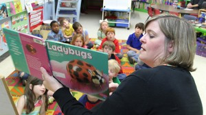 Julie Gatlin, a Lafayette Lower Elementary School teacher and national board candidate, joined the World Class Teaching Program in August and hopes to pass her boards by the end of June.