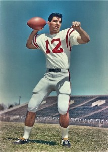 Jim Weatherly during his Ole Miss playing days.