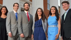 Newly elected 2014-15 Ole Miss Associated Student Body Officers