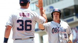 Ole Miss Baseball defeated Vanderbilt in the SEC Tournament on May 22nd, 2014 in Hoover, AL.