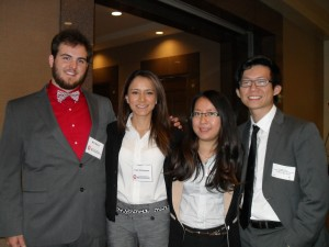 Students from the Meek School of Journalism and New Media placed second in a recent AT&T student competition.