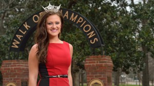Miss University 2014 Anna Beth Higginbotham.  Photo by Kevin Bain/Ole Miss Communications