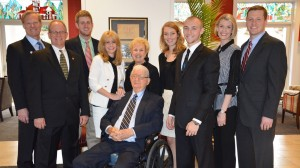 Pierron family members attend Pharmacy Alumni Weekend.