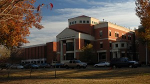 The Thad Cochran Research Center anchors the pharmacy school's academic and research enterprise.