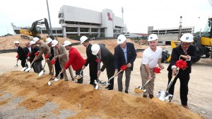 Arena Groundbreaking Ceremony and Reception on Thursday, July 31st, 2014 on the campus of The University of Mississippi.