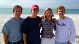 The Hastings Family Fund is comprised of John, his wife Sarah, and sons Harrison, and  Andrew '16.