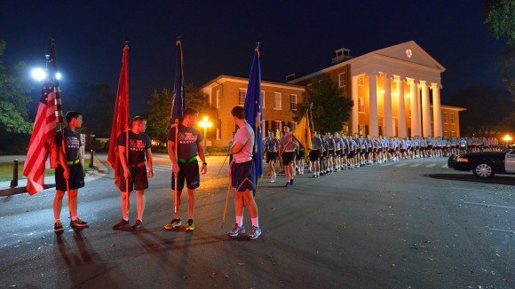 Ole Miss ROTC Cadets to Host 9/11 Memorial Run