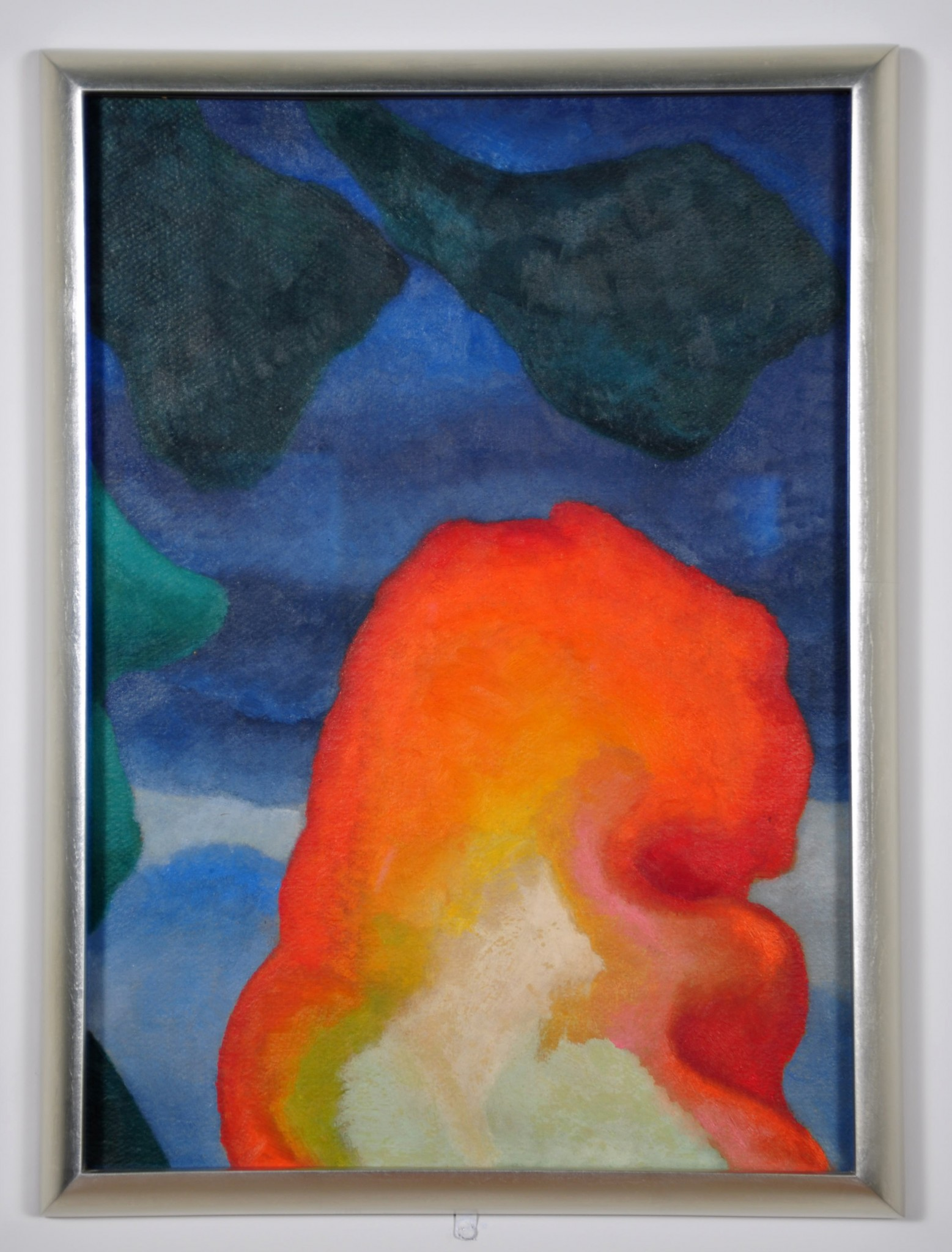 Georgia O'Keeffe's Lake George abstraction is at the University of Mississippi Museum.