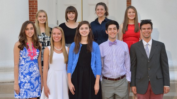 Ten UM Freshman Awarded Prestigious Honors College Scholarships