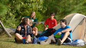 Camping is one of the trips Ole Miss Outdoors has offered in the past.