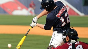 Ole Miss Baseball vs Arkansas on Friday, May 23rd, 2014 at the SEC Tournament in Hoover, AL.