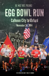2nd Annual Egg Bowl Run scheduled for Monday, Nov. 24.