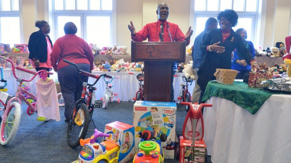 UM Employees Play Santa's Helpers