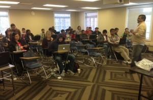 Computer Science Alumnus Presents Hadoop Workshop