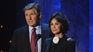 Mary Ann Mobley Collins, pictured here with husband Gary Collins, was amongst a number of celebrities who co-hosted Mississippi Rising in 2005.