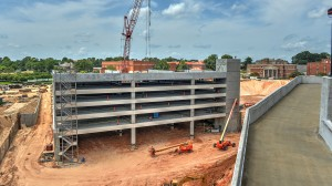 Parking garage and Ole Miss basketball arena tabbed for completion in 2015.