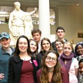 A Sally McDonnell Barksdale Honors College classics class studying antiquities took an educational trip to New York over spring break.