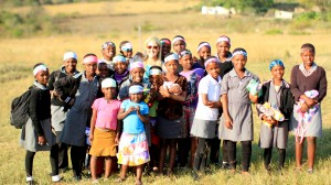 Children of Swaziland are thankful for their new Bandiez headbands.