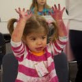 The UM Museum's Mini Master's program allow children to create works of art with their parents.