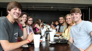 Rising high school seniors get a glimpse at what college life is like while participating in the SCHS program.