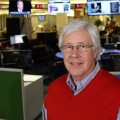 Fred Anklam in the USA TODAY newsroom. Photo by Jud McCrehin