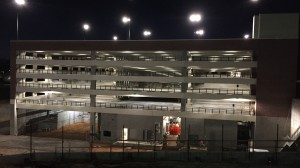 The Pavilion Parking Garage will be available this summer as a free trial for UM faculty and staff. Photo by Innovative Construction Management.