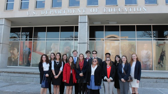Teaching Program Fellows Study Education Policy in Nation's Capital