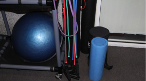 """Workout equipment for students and facility that have a """"FIT"""" sticker their Identification card."""