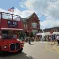 The iconic Double Decker buses will be around Oxford during the festival.
