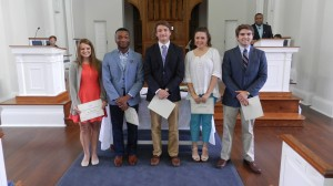 (Left to Right) Olivia Dear, Christopher Feazell, Dillon Hall, Alexis Smith, Loden Snell