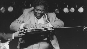 B.B. King performing live, date unknown. Photo courtesy of UM Blues Archive in Special Collections at J.D. Williams Library.