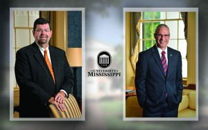Chancellor Morris Stocks and Acting Provost Noel Wilkin
