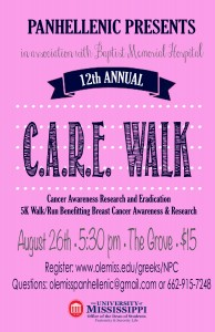 CARE Walk flyer 2015