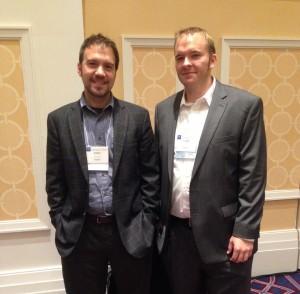 John Rimoldi (left) and Cody Tawater