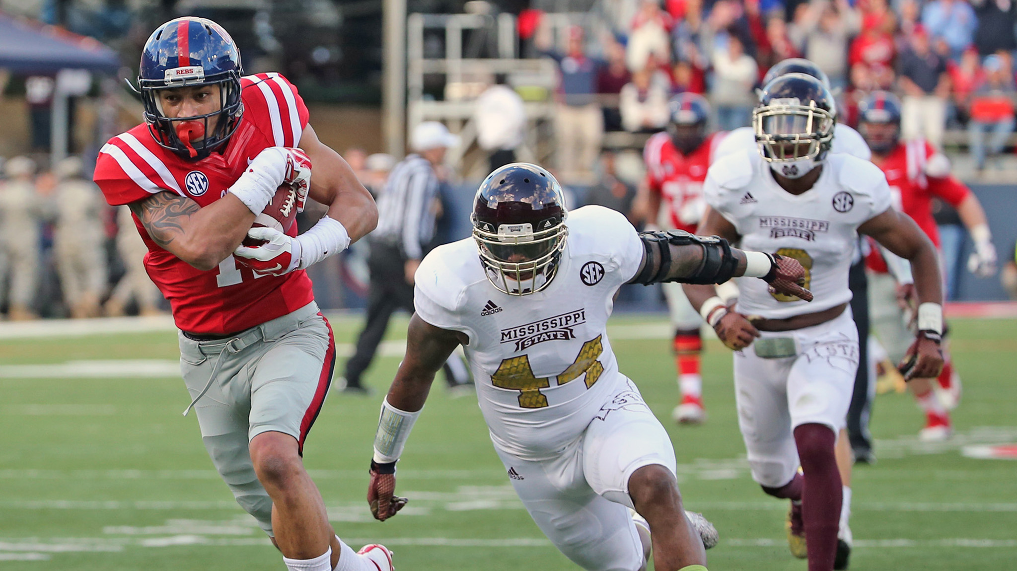 Ole Miss vs Mississippi State 2013 - YouTube