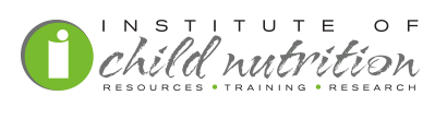 The new logo for the Institute of Child Nutrition.