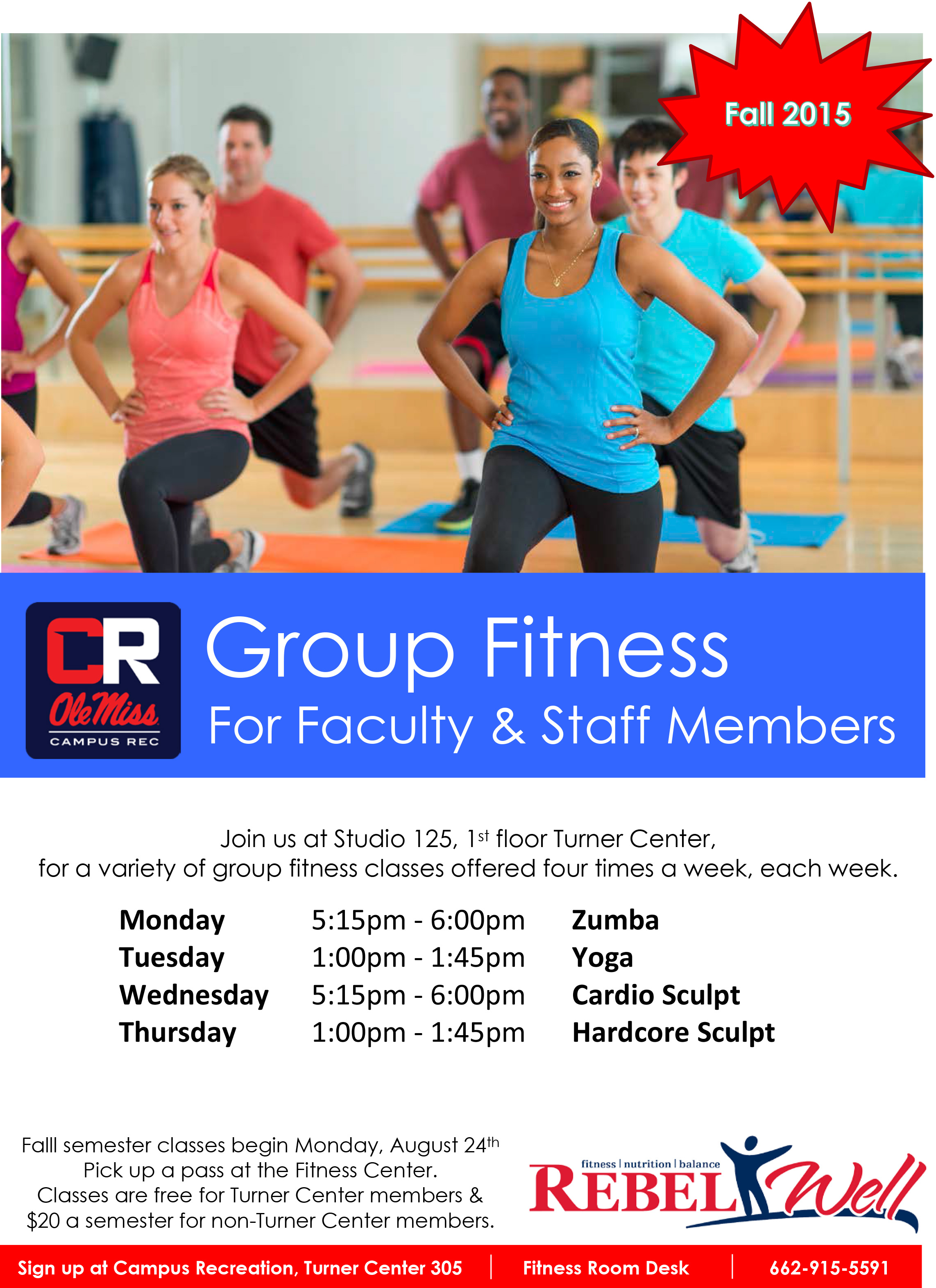 get moving with rebelwell group fitness classes