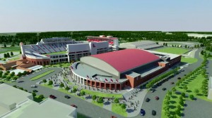 Thanks to generous donations, The Pavilion at Ole Miss will open for SEC play in early 2016.